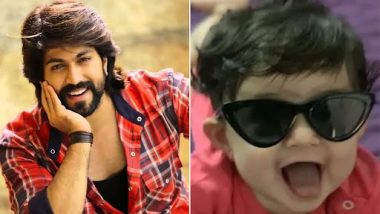 KGF Star Yash to Be a Dad Again, Announces Chapter 2 of Fatherhood With Daughter Arya's Super Cute Video