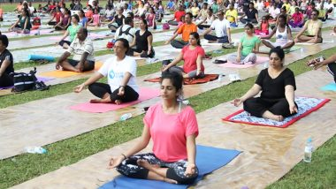 International Day of Yoga 2019: More Than 1500 People Perform Yoga in the US