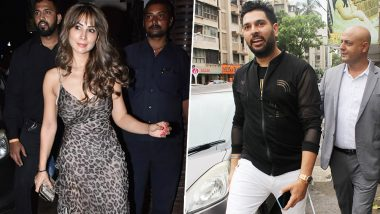 Kim Sharma Attends Ex-Boyfriend, Yuvraj Singh's Retirement Party - View Pic