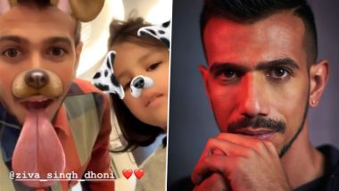 Yuzvendra Chahal Shares Hilarious Instagram Story With Ziva Dhoni Ahead of India vs Afghanistan CWC 2019 Match