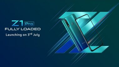 Vivo Z1 Pro Smartphone With Punch Hole Selfie Camera To Launch in India  on July 3; Expected Price, Features and Specifications