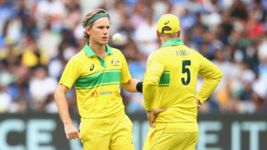 Hand Warmers Not Sandpaper! Aaron Finch Defends Adam Zampa After Indian Fans Accuse Spinner of Ball Tampering During IND vs AUS CWC 2019 Match