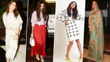 Anushka Sharma, Sara Ali Khan and Rakul Preet Singh's Fashion Outings Made this Week a Lot More Happening for Us - View Pics