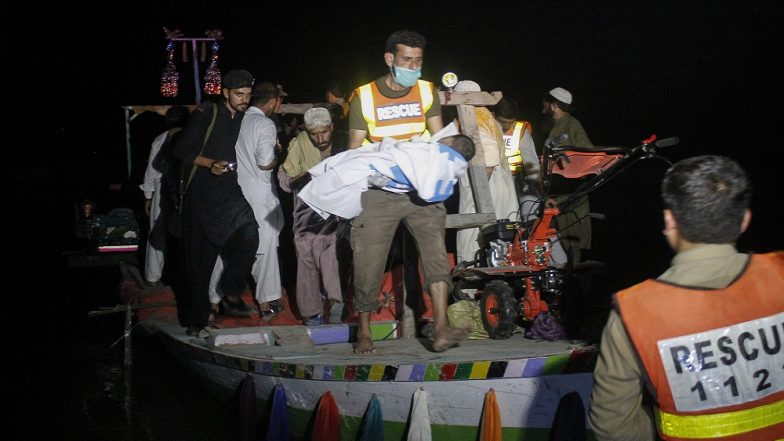 Pakistan Boat Carrying 38 Passenger Capsizes in Indus River Leaving 4 Dead and 21 Missing
