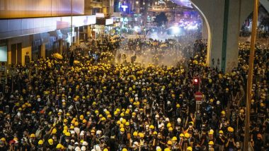 Hong Kong Police Fire Tear Gas and Rubber Bullets at Anti-Government Protesters