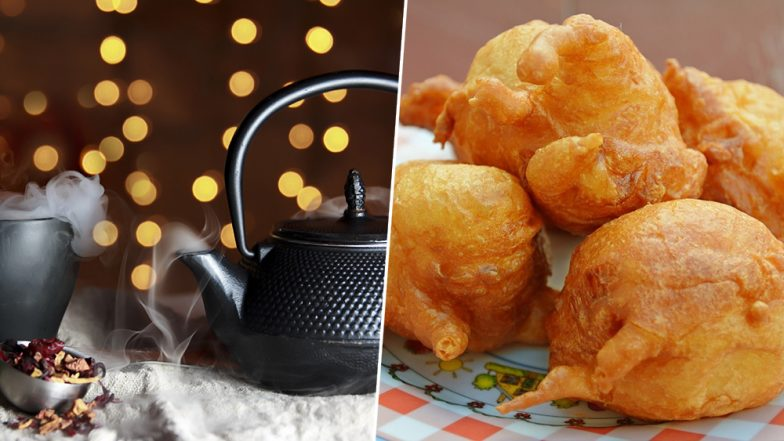Chai and Pakoras in the Rains: Why You Should Snack on These Monsoon Favourites (Watch Video)