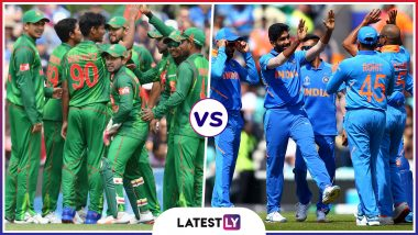 IND vs BAN Head-to-Head Record: Ahead of ICC CWC 2019 Clash, Here Are Match Results of Last 5 India vs Bangladesh Encounters!