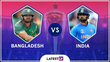 India vs Bangladesh Highlights of ICC World Cup 2019 Match: IND Qualify for Semi-Finals, BAN Knocked Out