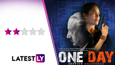 One Day: Justice Delivered Movie Review: Anupam Kher and Esha Gupta's Thriller Does No 'Justice' to an Intriguing Plot