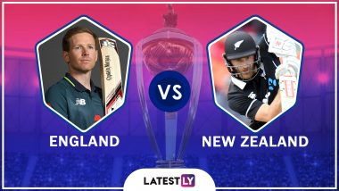 England vs New Zealand Highlights of ICC World Cup 2019 Match: ENG Qualify for Semi-Finals, NZ Virtually in Semis As Well