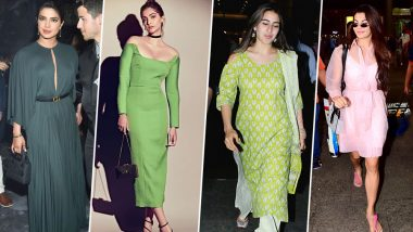 Priyanka Chopra, Sara Ali Khan and Jacqueline Fernandez Set the Fashion Ball Rolling This Week - View Pics