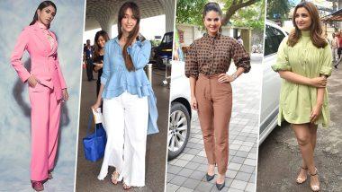 Sunny Leone, Mrunal Thakur and Parineeti Chopra Baffle us with Their Style Choices This Week - View Pics