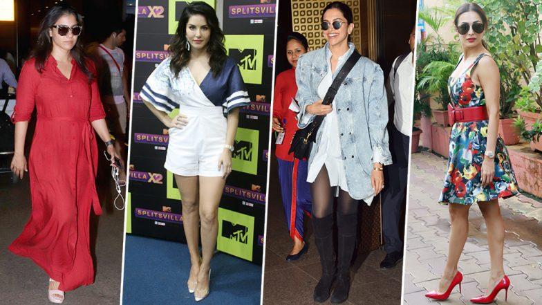 Deepika Padukone, Malaika Arora and Sunny Leone's Fashion Choices Brighten up Our Saturday - View Pics