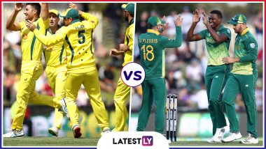 AUS vs SA Head-to-Head Record: Ahead of ICC CWC 2019 Clash, Here Are Match Results of Last 5 Australia vs South Africa Encounters!