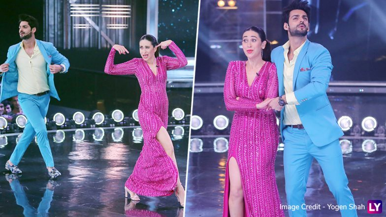 Karisma Kapoor Shakes a Leg with Karan Wahi on Sona Kitna Sona Hai for a Karismatic Dance India Dance Episode – See Pics