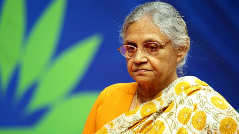 Sheila Dikshit Dies at 81: President Kovind, PM Modi, Rahul Gandhi & Celebrities Express Grief On Former Delhi CM's Demise; Cremation to Take Place at 2:30 PM on Sunday at Nigam Bodh Ghat