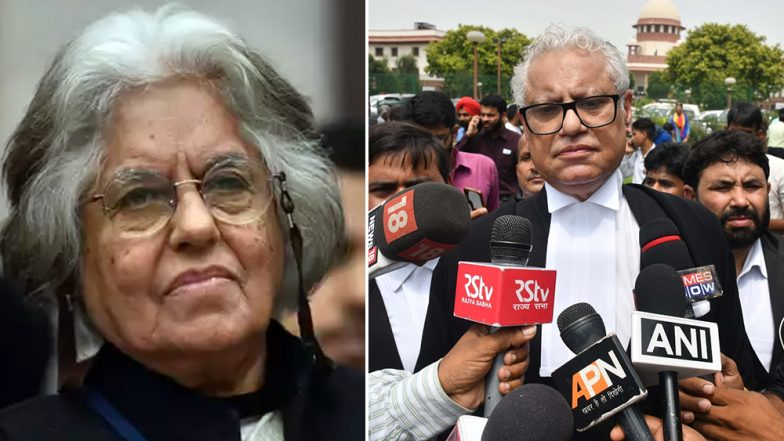CBI Raids Conducted at Indira Jaising, Anand Grover's Houses in Delhi Over Foreign Funding Case, Senior Lawyer Says Targeted for Human Rights Work