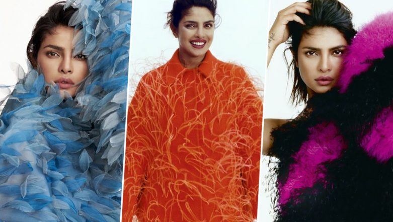 Priyanka Chopra's Recent Pictures from her Elle UK Photoshoot are Exquisite and Extremely Artistic - View Pics