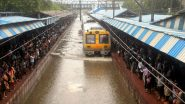 Mumbai Rains: Local Trains Cancelled Amid Heavy Rainfall And Severe Waterlogging; IMD Predicts 'Cloudy Skies & Heavy Rains' For Today