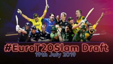Euro T20 Slam Draft to Take Place in London on July 19