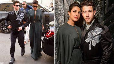 Priyanka Chopra and Nick Jonas Make a Super Classy Appearance at Christian Dior's Couture Show - View Pics!