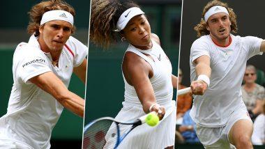 Naomi Osaka, Alexander Zverev and Stefanos Tsitsipas Crash on Wimbledon 2019 'Black Monday'