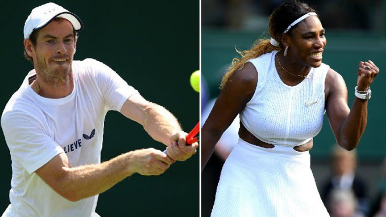 Andy Murray, Serena Williams to Pair Up for Mixed Doubles at Wimbledon 2019