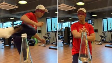 XXX: Return of Xander Cage Actor Donnie Yen Takes the Bottle Cap Challenge Difficulty Level Higher, Pulls Off the Feat Blindfolded (Watch Video)