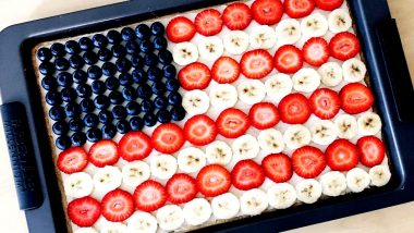 4th of July Special: Simple Patriotic Fruit Pizza Recipe for You to Try This American Independence Day