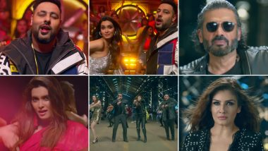 Khandaani Shafakhana Song Sheher Ki Ladki: Raveena Tandon and Suniel Shetty Steal the Show With Diana Penty In This Groovy Remake of Their 90s Track (Watch)