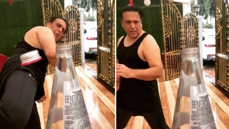 Move Over Akshay Kumar and Tiger Shroff! Govinda Aces the #BottleCapChallenge in This No 1 Video