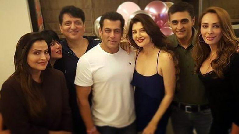 Salman Khan Hosts Ex-Girlfriend Sangeeta Bijlani's Birthday Bash, Iulia Vantur and Other Friends Join the Celebration - See Pics