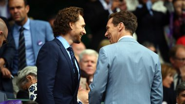 Wimbledon 2019: When Loki Meets Doctor Strange! Tom Hiddleston and Benedict Cumberbatch Arrive to Cheer for Roger Federer and Novak Djokovic