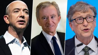 Jeff Bezos Retains Top Spot as Richest Man in Bloomberg Billionaires Index, Bernard Arnault Jumps to Second Place, Bill Gates Slips to Third