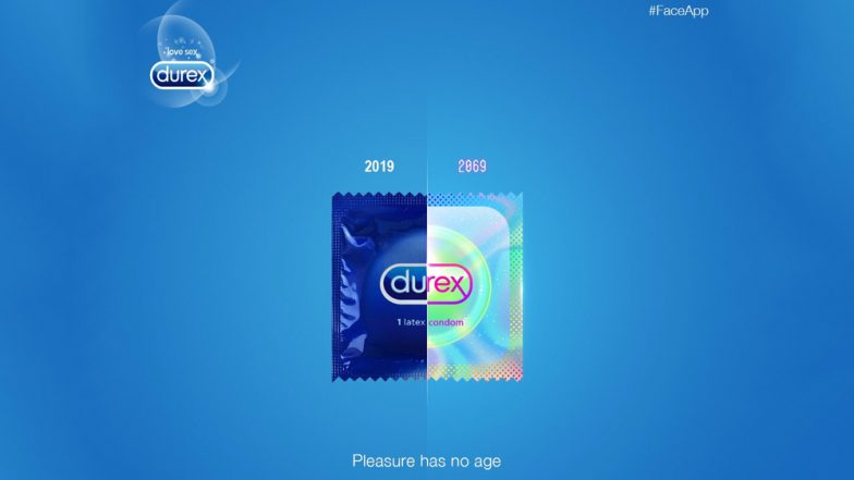 Durex Takes the Viral FaceApp Challenge Showing How Condoms Would Look in 2069 and the Result Is Hilarious! (View Pic)