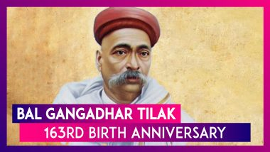 Bal Gangadhar Tilak 163rd Birth Anniversary: Know More About the Leader Who Fought for Swaraj