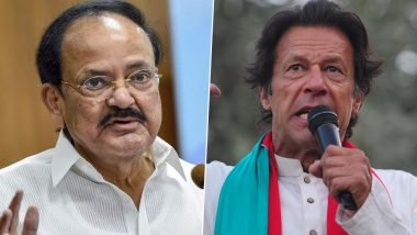 Vice President Venkaiah Naidu Slams Imran Khan for His Remarks On Presence of Terrorists in Pakistan