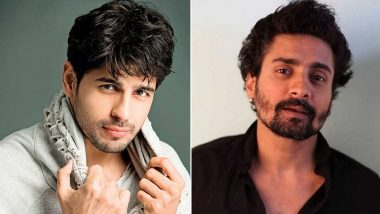 Sidharth Malhotra Gives Swimming Lessons to His Jabariya Jodi Co-Star Chandan Roy Sanyal