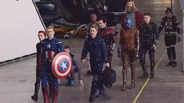 This New BTS Video of Avengers: Endgame With Sean Gunn Motion Referencing for Rocket Will Leave You With Massive Respect for the Actor