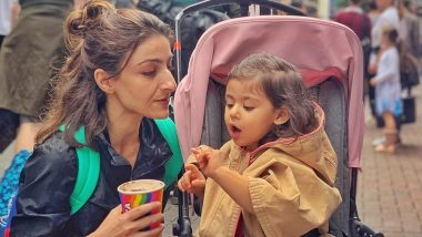Soha Ali Khan Shares an Adorable Picture With Her Sweet 'Babycino' Inaaya Naumi Kemmu and We Love the Little One's Expressions in It