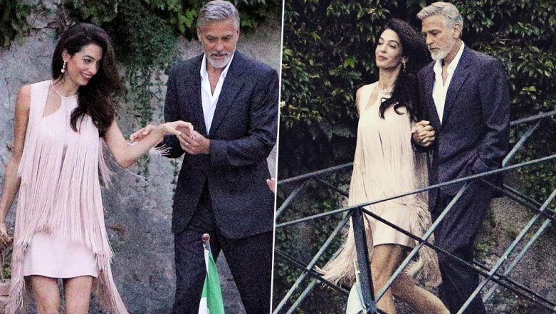 Yo or Hell No! Amal Clooney Picks a Fringe Dress by Stella Maccartney for her Lake Como Outing