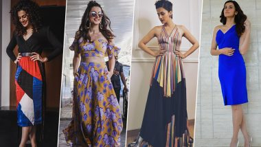 Taapsee Pannu Birthday Special: She Hates Being Typical When it Comes to her Fashion Outings (View Pics)