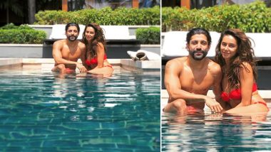 Farhan Akhtar and Shibani Dandekar Make for a Perfect Couple in this Pool Picture from Their Holiday