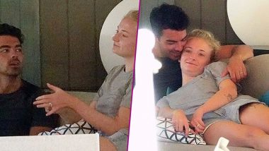 Joe Jonas and Sophie Turner Snapped in Cosy Cuddle on Their Maldives Honeymoon and We Can't Deal With This Cuteness - See Pictures