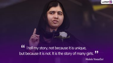 Malala Day 2019: Malala Yousafzai Quotes on Education to Inspire Millions Across the Globe