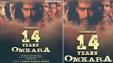 14 Years Of Omkara: Ajay Devgn Celebrates Vishal Bharadwaj's Blockbuster, Calls It a Special Film