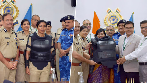 CRPF Unveils First Full Body Protector Designed For Women Security Personnel in India