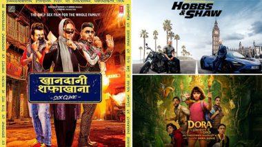 Movies This Week: Sonakshi Sinha and Badshah's Khandaani Shafakhana, Dwayne Johnson-Jason Statham's Hobbs & Shaw, Isabela Moner's Dora and the Lost City of Gold
