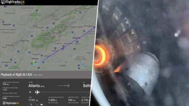Man Films Plane Engine Falling Apart Mid-Flight, Internet Has an Anxiety Attack (Watch Video)