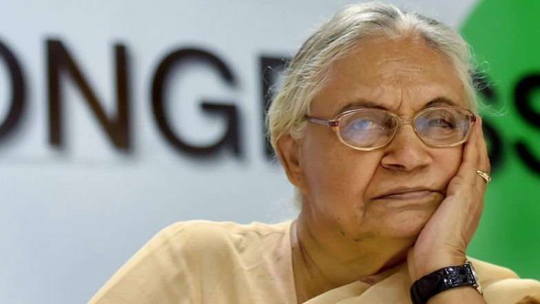 Sheila Dikshit No More: Delhi Government Announces 2-Day State Mourning Over Former CM's Demise